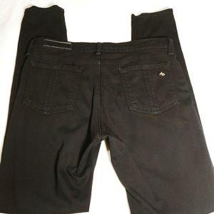 Rag & Bone black legging Size 31 Minimal wear fade
